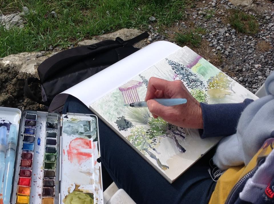Sonia Hawes art holidays