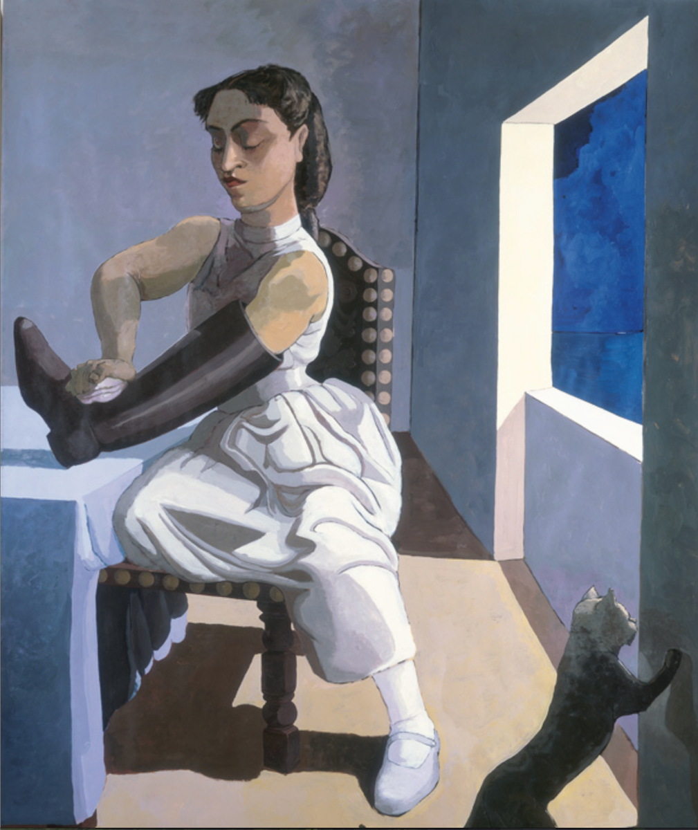 Paula Rego The Policeman's Daughter 1987 Oil on canvas 213 x 152 cm