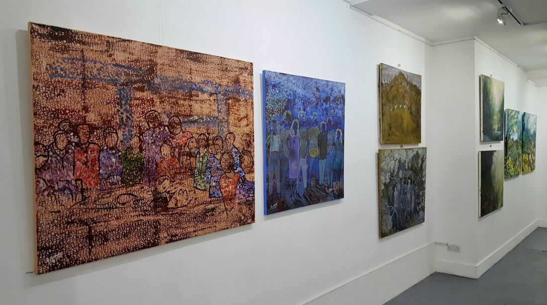 Artwork featured at the Israeli Contemporary Artists Exhibition.