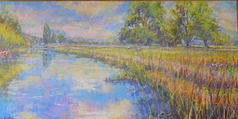 The River Itchen, Featured work by Clare Goodman