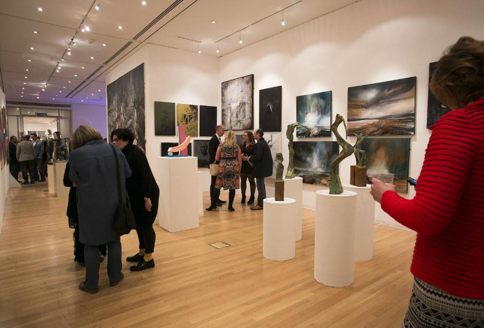 FLUX Exhibition @Royal Art College - Kensington Gore