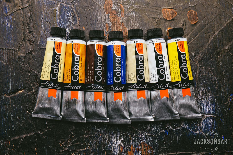 Talens Cobra Oil Paint