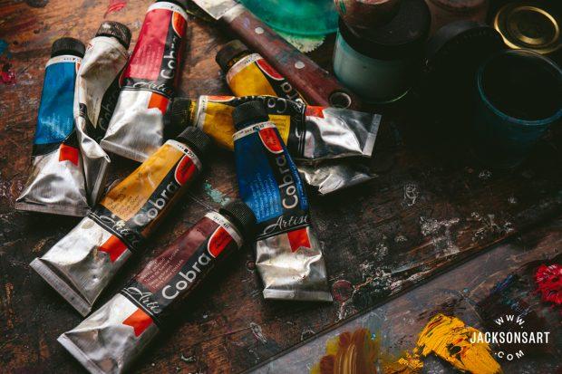 Cobra Watermixable Oil Paints