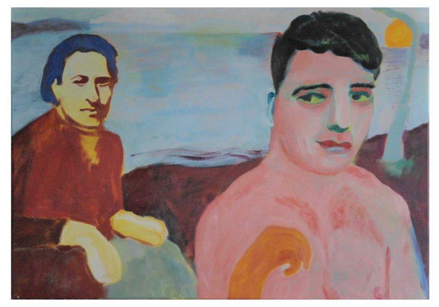 Janet Sainsbury, Do the Strand, 2018, Oil on canvas, 70 cm x 100 cm