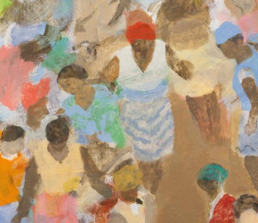 Paul Dash, Pick of the Crop, 2018, Oil on canvas, 127.5 cm x 102 cm