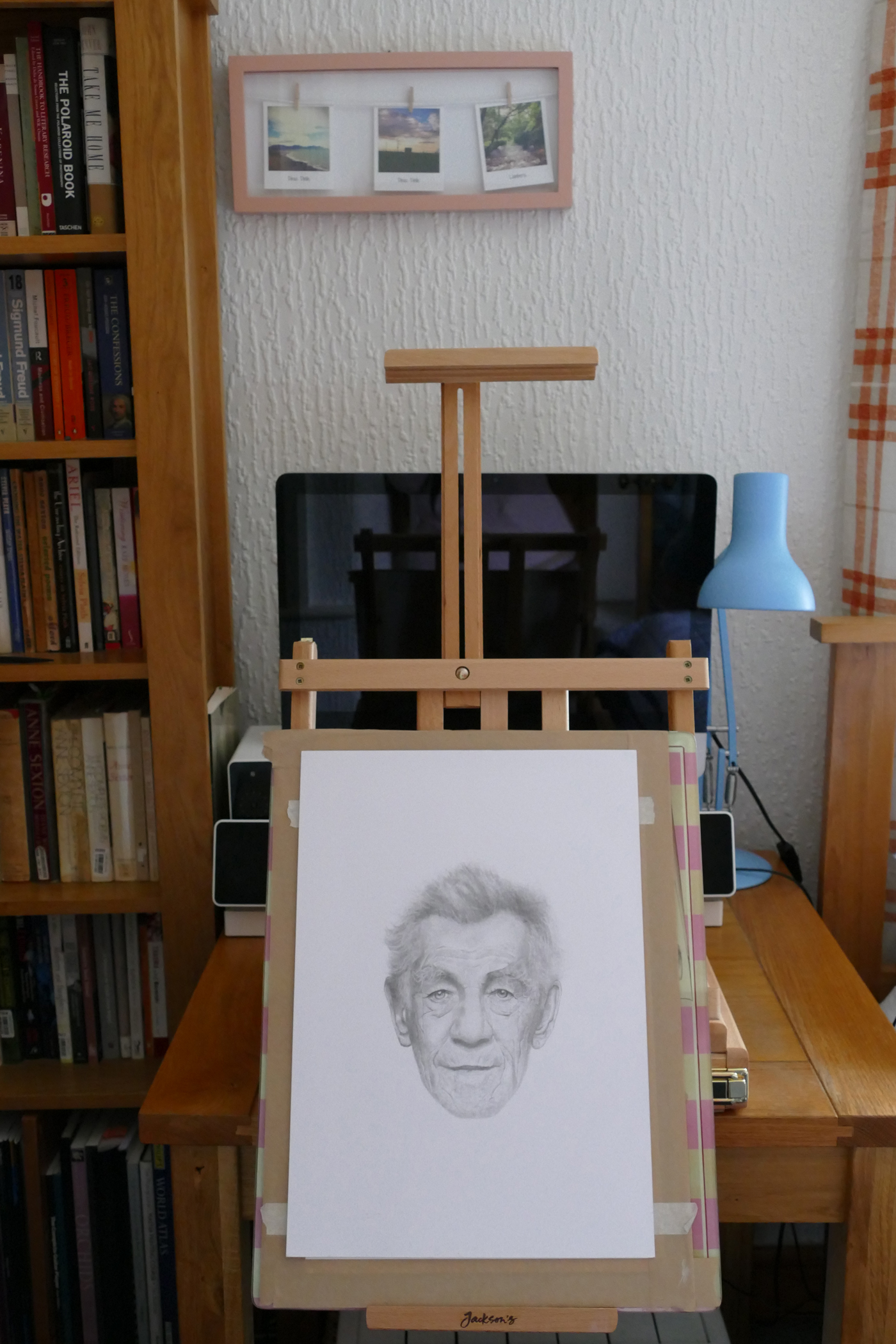 Wentworth easel with drawing board