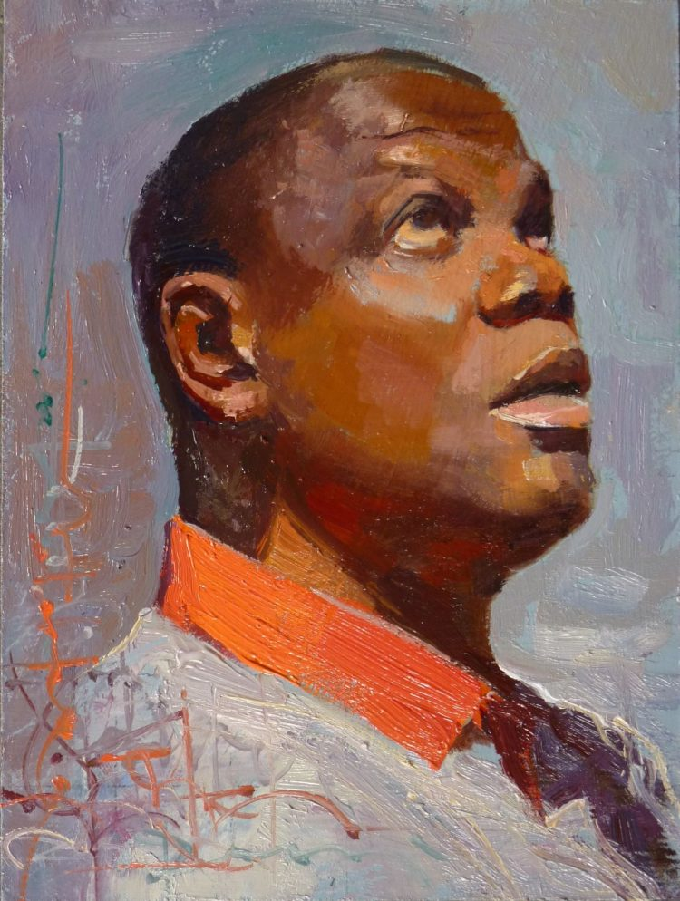 Deliberate Portrait Practice #4 - Selfie, portrait painting