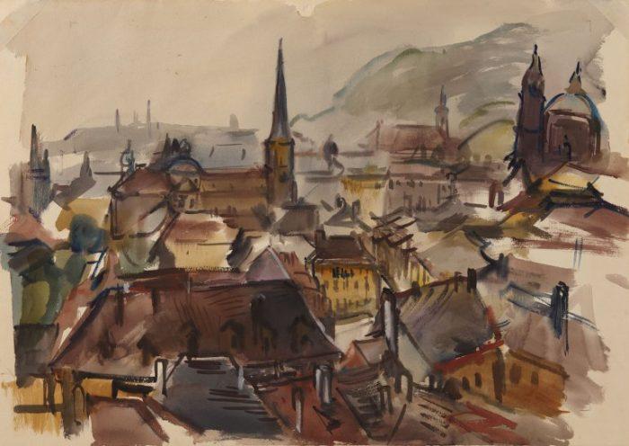 Freda Salvendy, Prague, Ben Uri Collection, © Freda Salvendy Estate