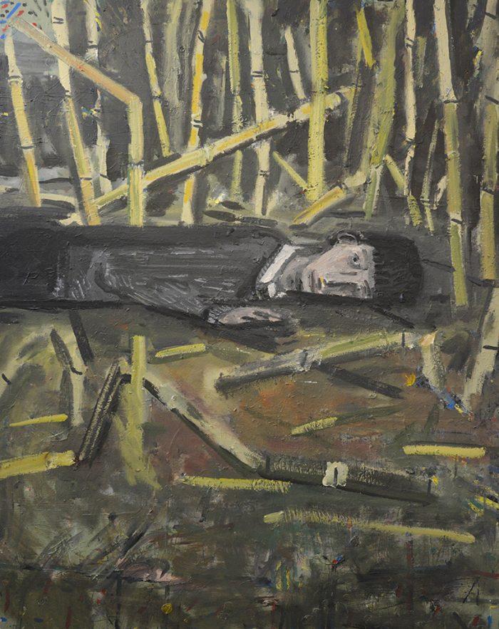 Adam Hennessey, Ned, 2018, Acrylic on canvas, 150 cm x 120 cm