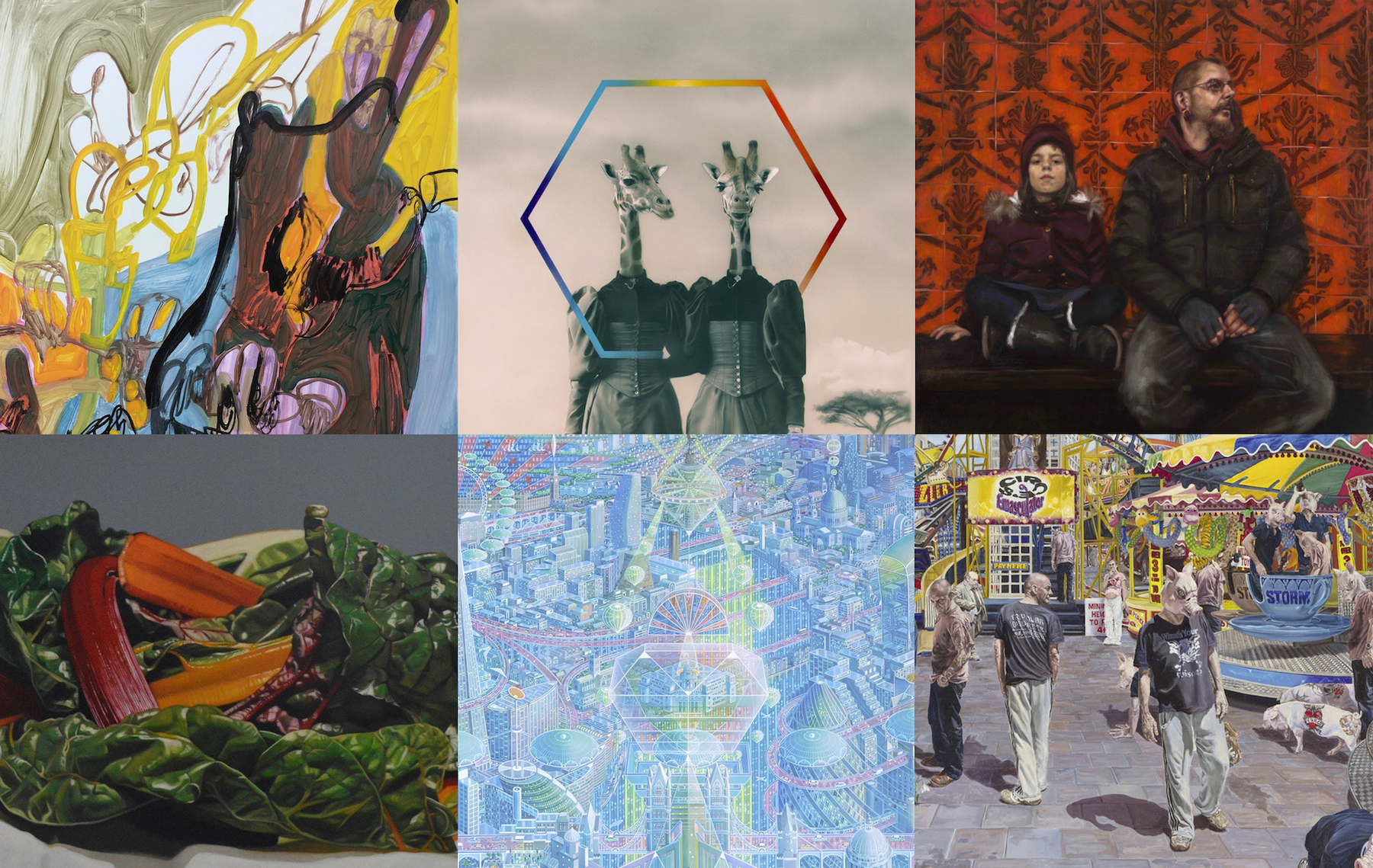 Jackson's Open Painting Prize 2019: Category Prize Winners