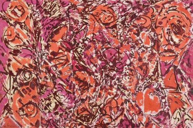 Lee Krasner, Icarus, 1964, Oil on canvas
