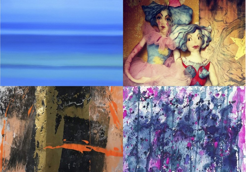 Selection of Artists' Work from Neon Blue Tales, Pie Factory, Margate