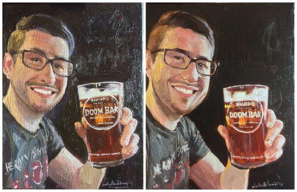 Deliberate Portrait Practice #60 - Graham's Son, portrait painting