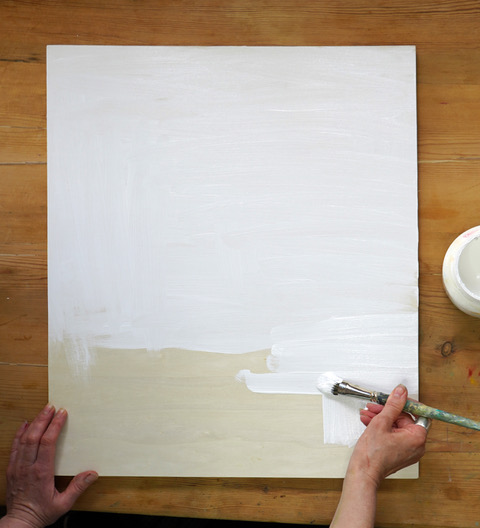 Smooth panel gesso