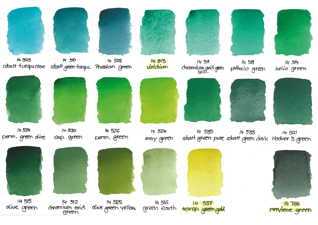 Why Would You Buy Green Watercolour Paint Jackson S Art Blog