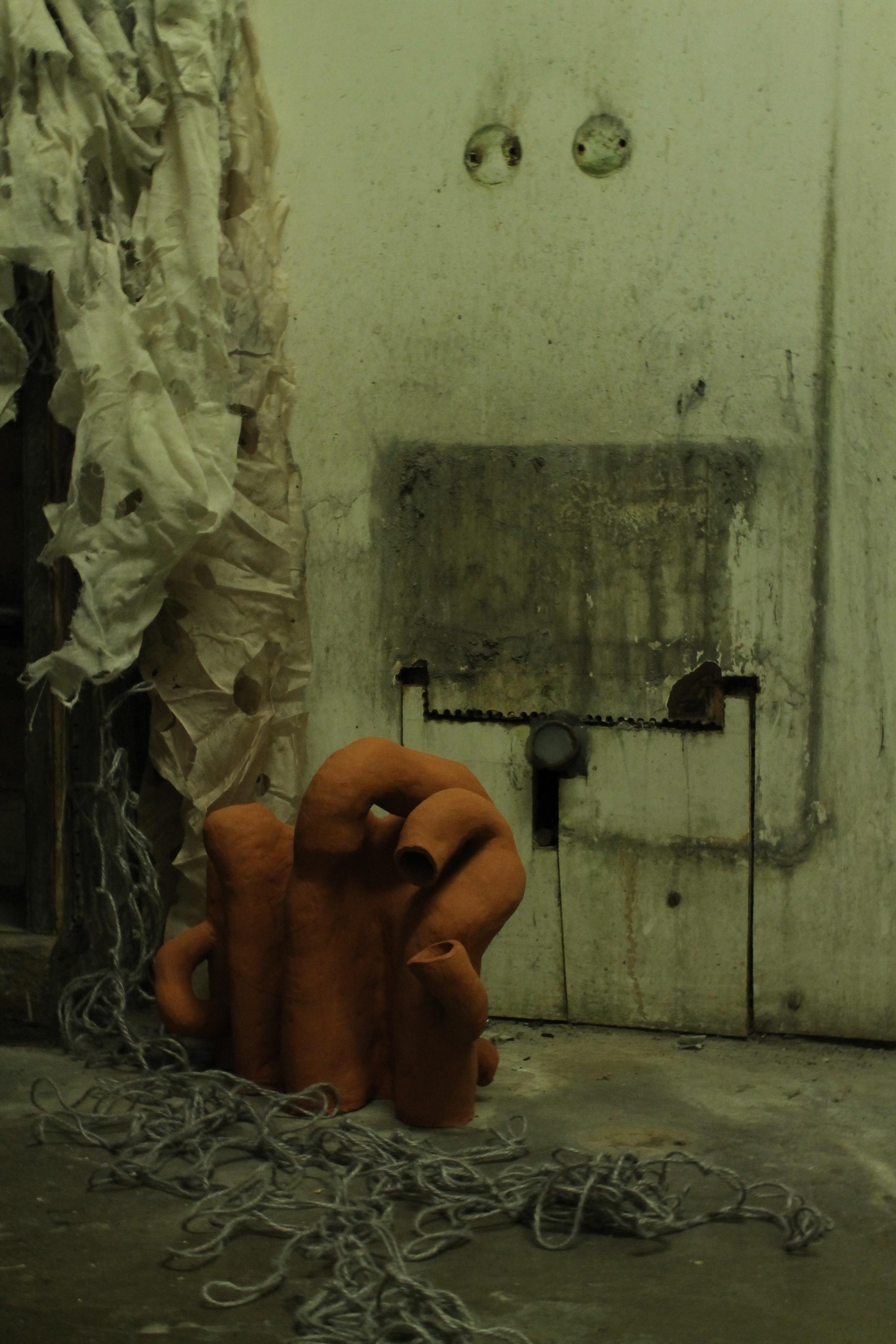 Charlotte Smith, installation detail: <em>Becoming a becoming of a becoming that might become a becoming</em>