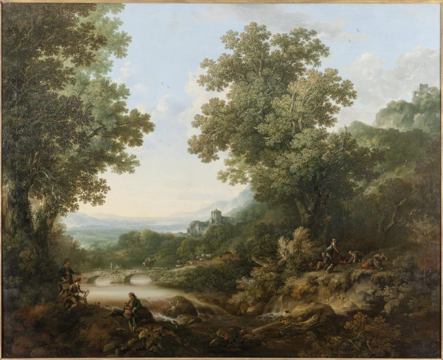 George Smith, Landscape Composition, 1760, Oil on canvas. Copyright: © Private Collection. Courtesy of The Auckland Project