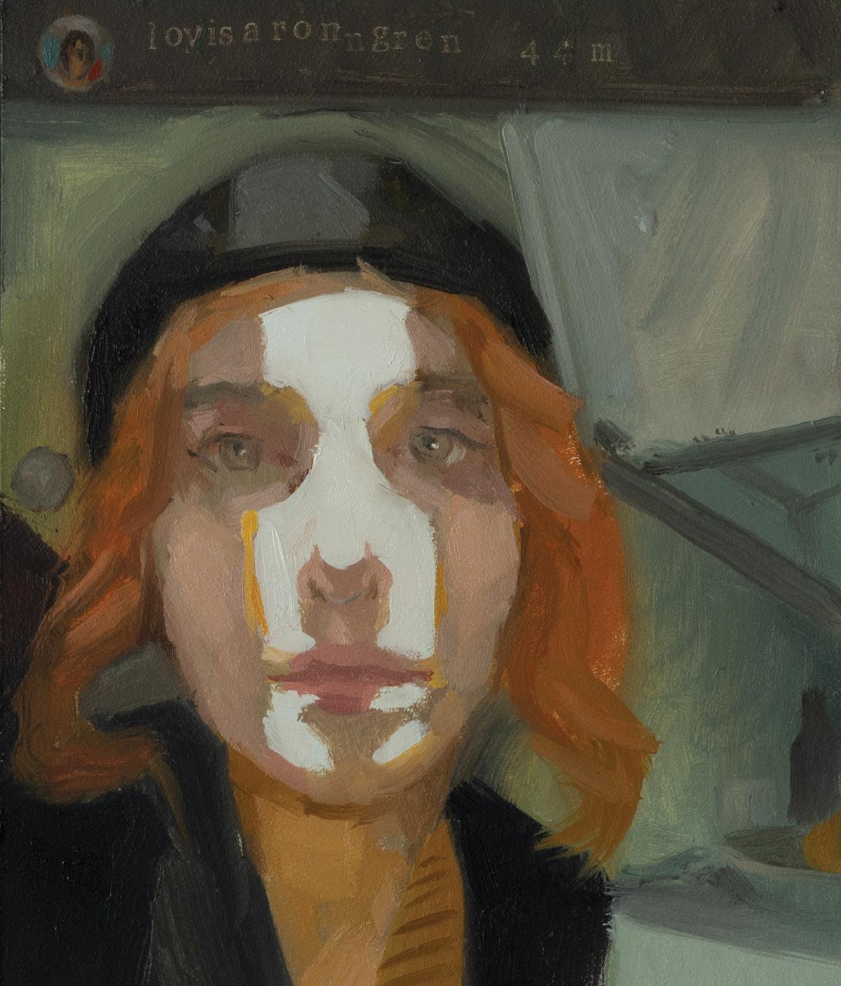 Thomas Golunski, <em>Lovisaronngren</em>, <br>20cm x 30 cm, Oil