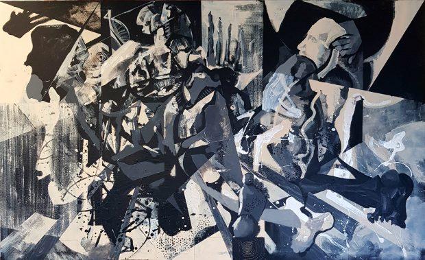 Idris Woodroffe, Untitled, 100cm x 161.8cm