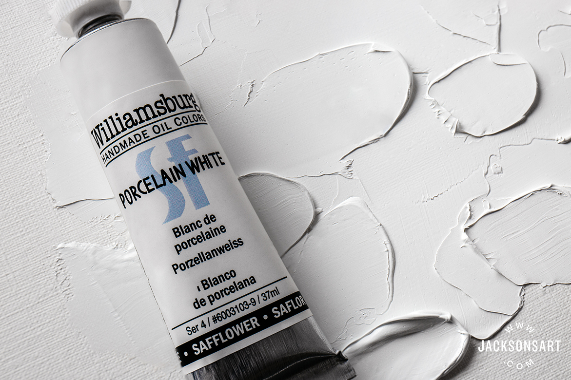 Williamsburg Porcelain White Oil Paint