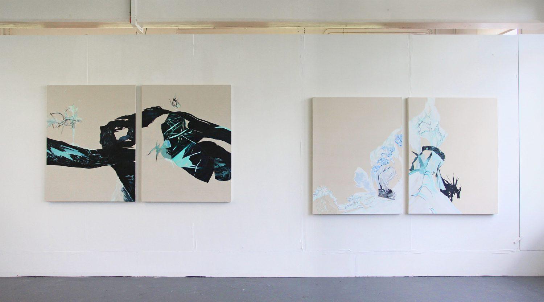 Magdalena Gluszak-Holeksa - View of the MFA Fine Arts Degree Show 2019
