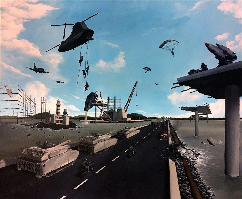 Invasion by Esmond Loh