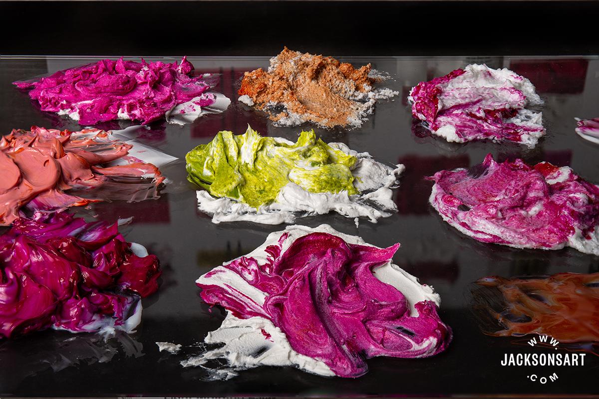 Golden Acrylic Mediums Comparison - Jackson's Art Blog