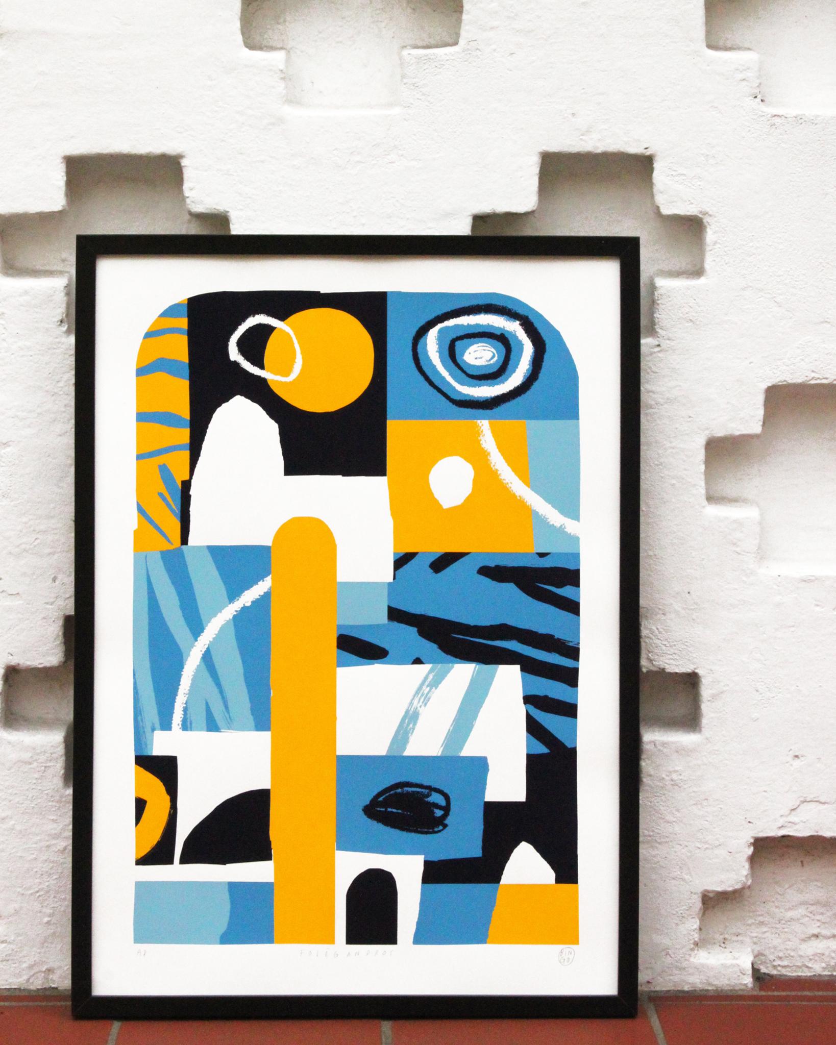 The Jaunt #46 - Atelier Bingo Silkscreen Print, 50cm x 70cm, Edition of 50, 2018 http://www.thejaunt.net/printarchive/046-atelierbingo
