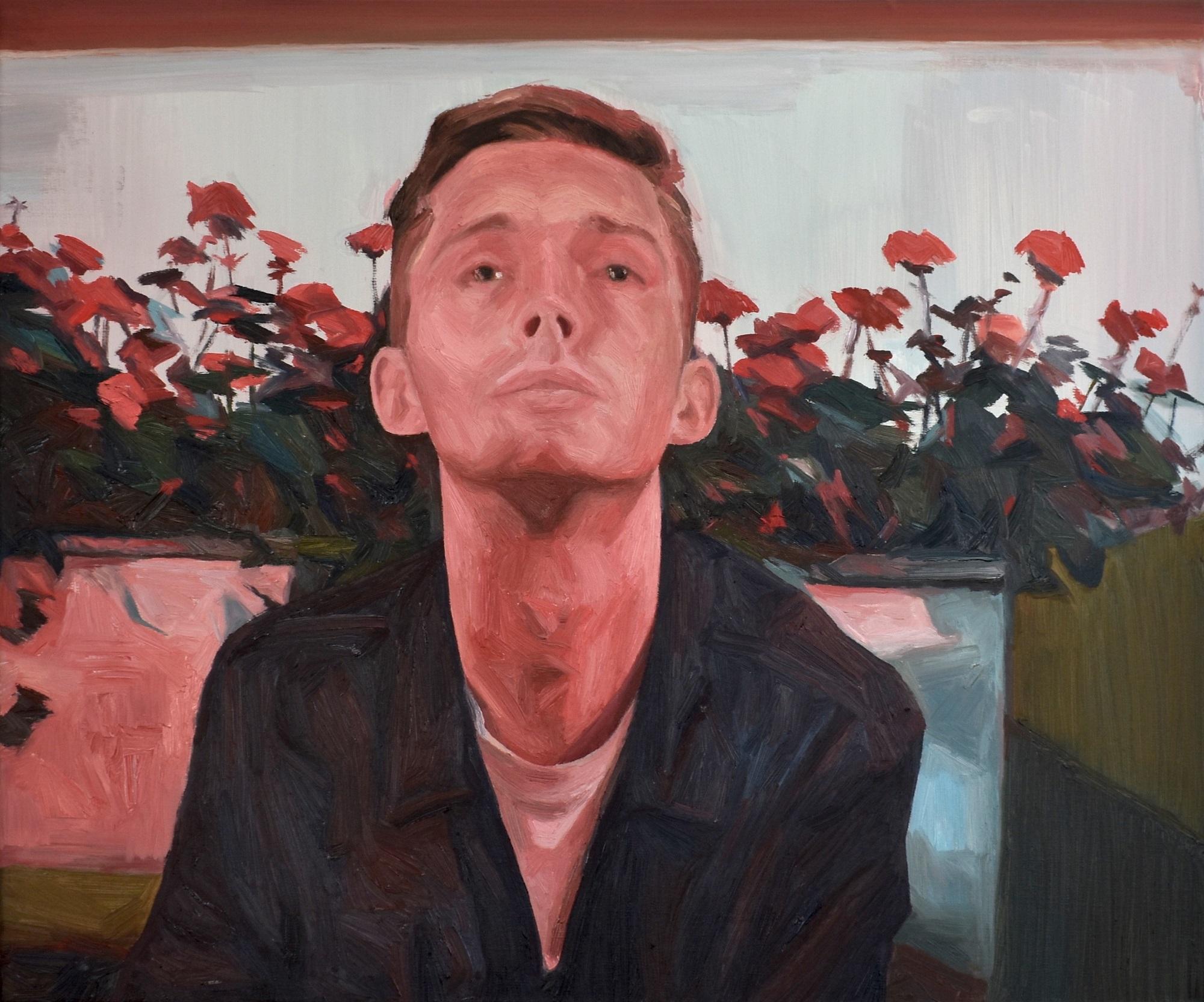 Quarter-Life Crisis, 2018 William GB Brown oil on canvas, 50cm x 60cm
