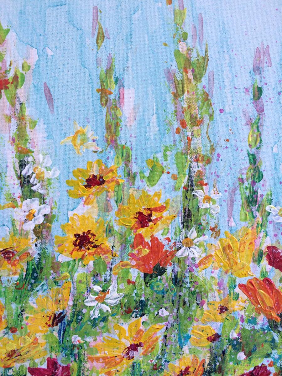 Sunny Side Up - detail, Andrea Hook