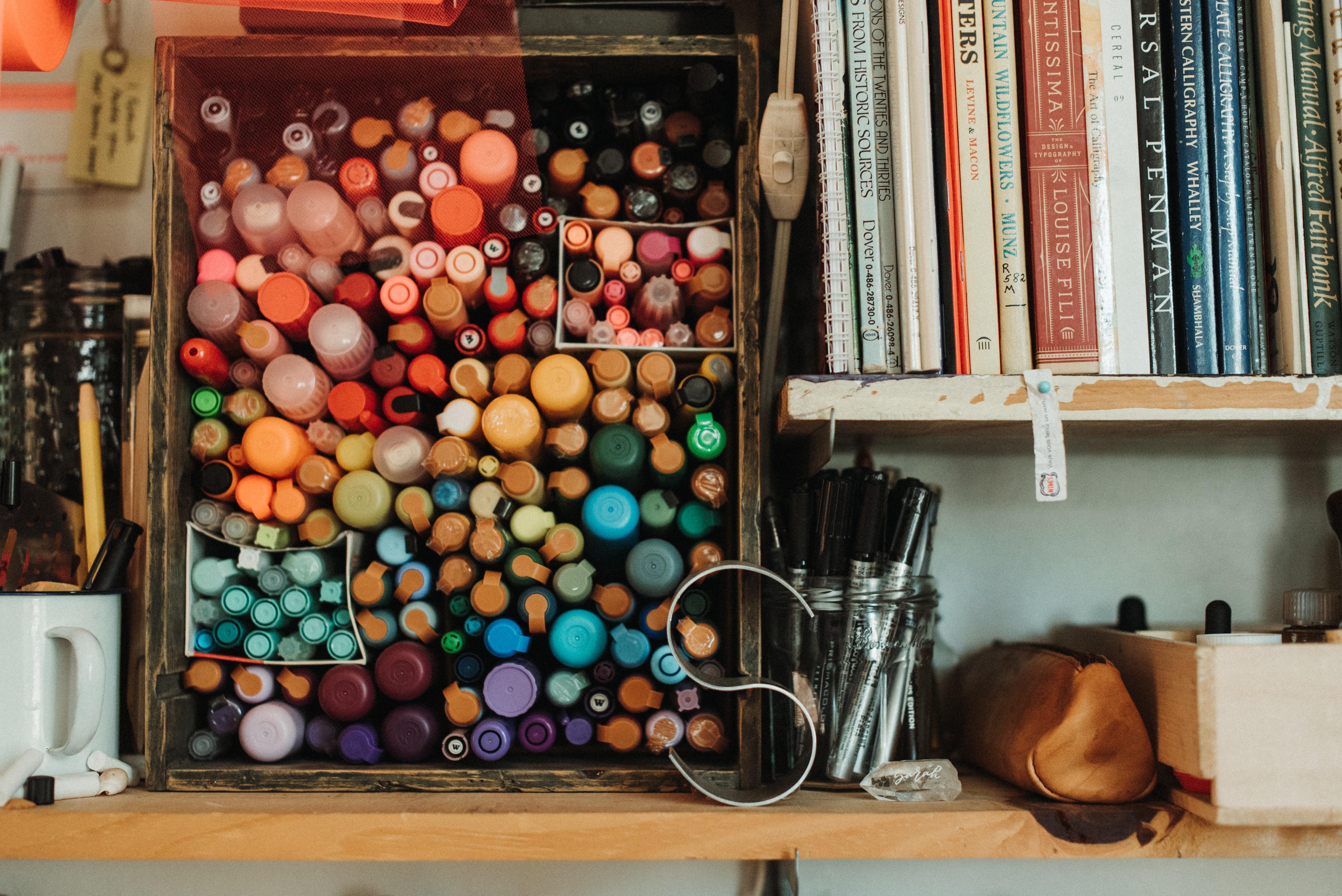 Posca Pen Heaven at Arrow Art Studio (photo by Jess Rankin - jessrankin.com)