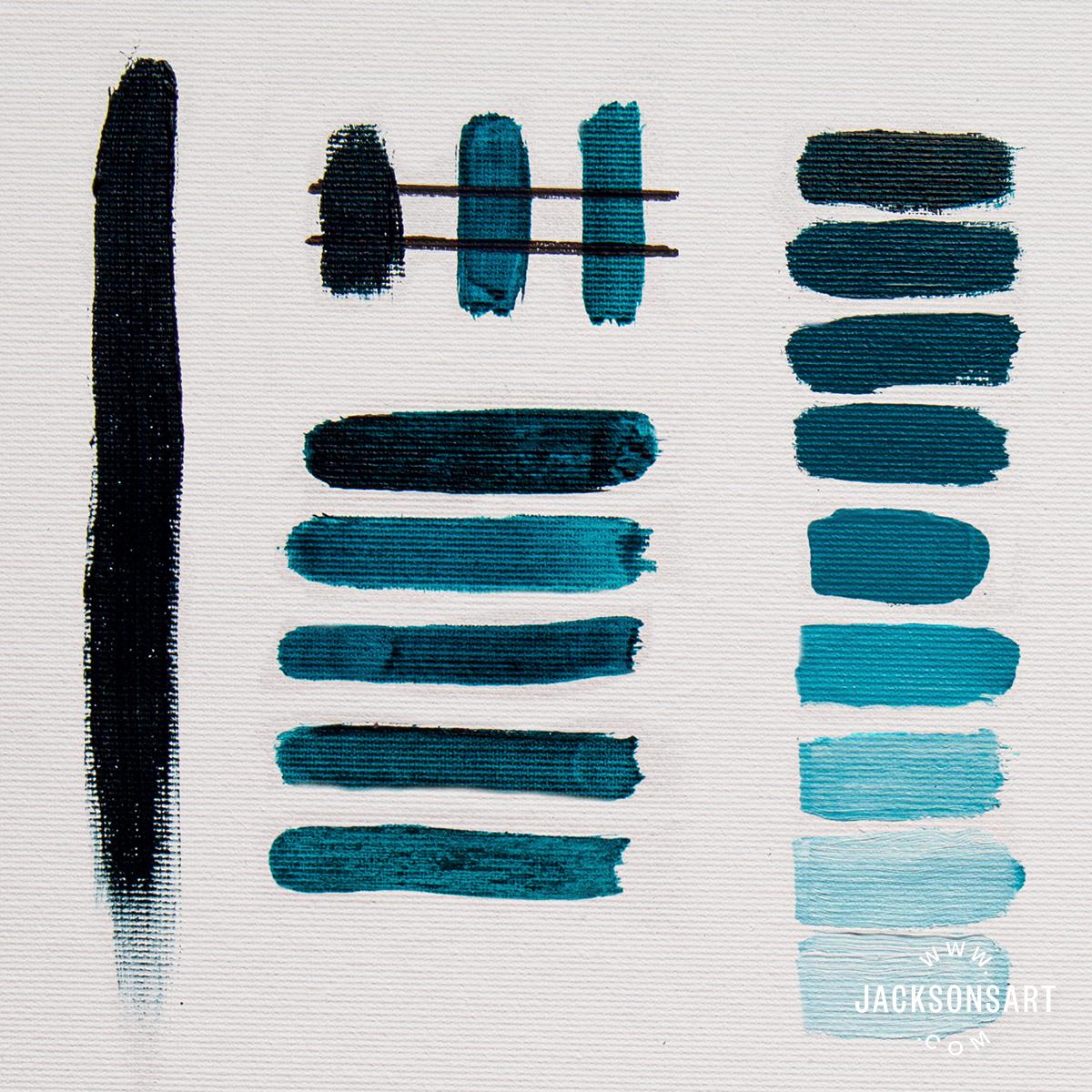 Michael Harding Caribbean Turquoise tests