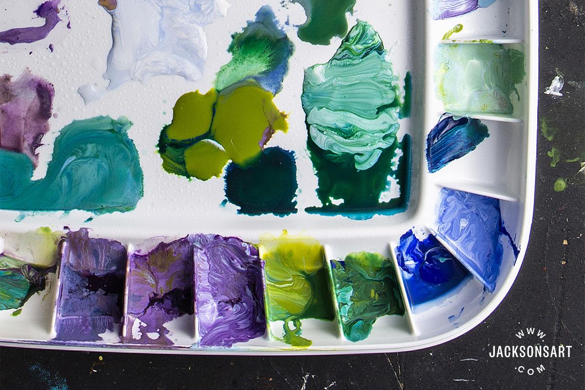 Keep Acrylic Paint Wet
