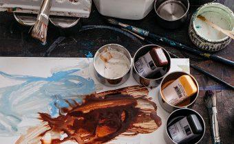 Encaustic Wax Heated Palette