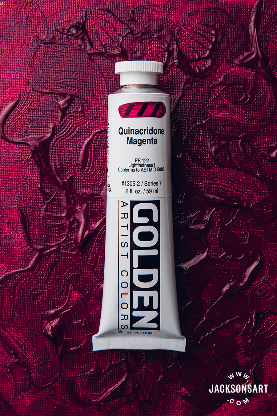 Golden Heavy Body Acrylic Quinacridone Magenta 59 ml