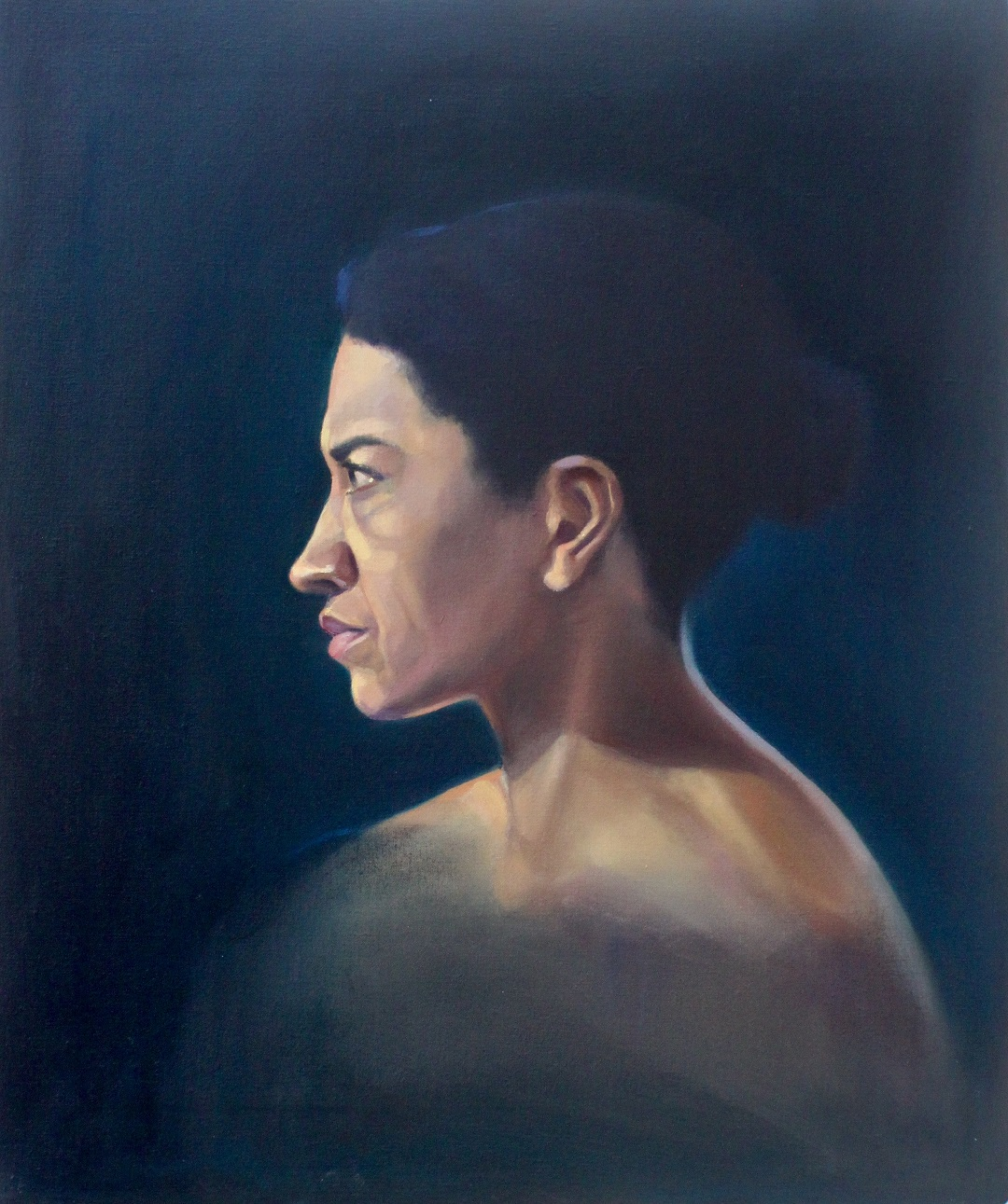 Face the Storm Jenny Fay Oil on Canvas 61cm x 76cm