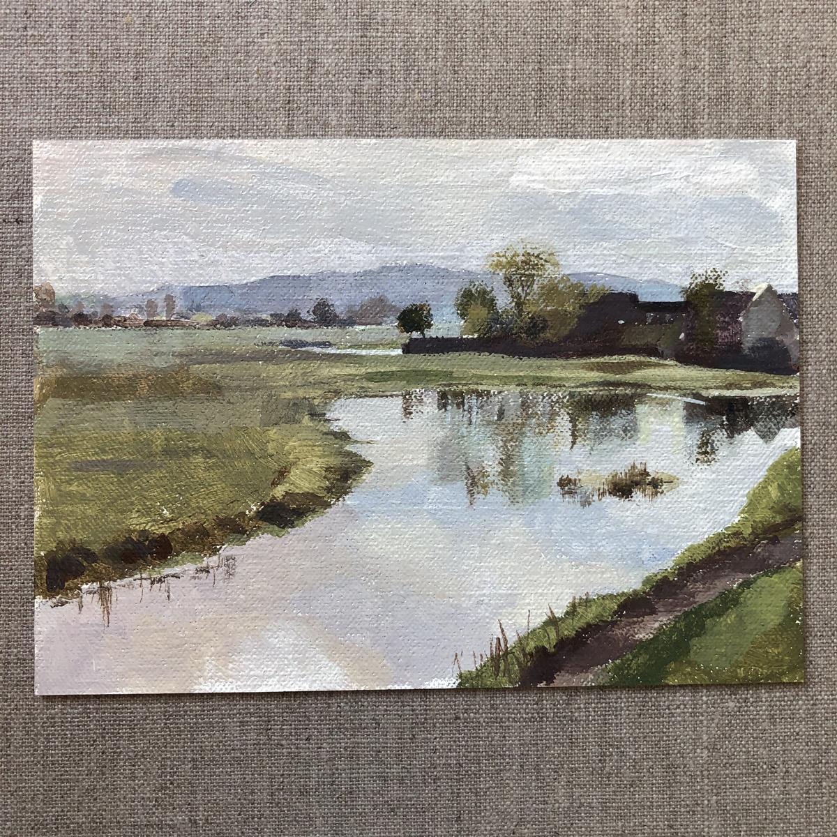 <em>Port Meadow Oxford </em>, Maggie Levien
