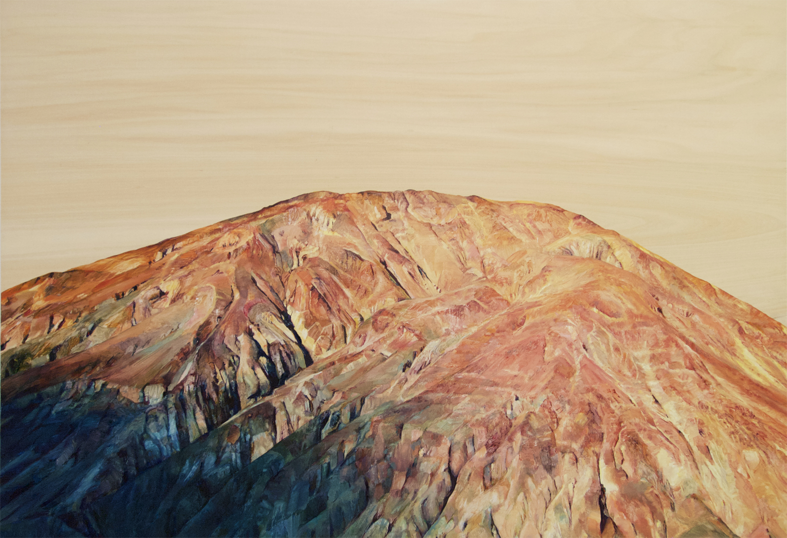 Shadow Polly Townsend Oil on Panel, 70 x 100cm
