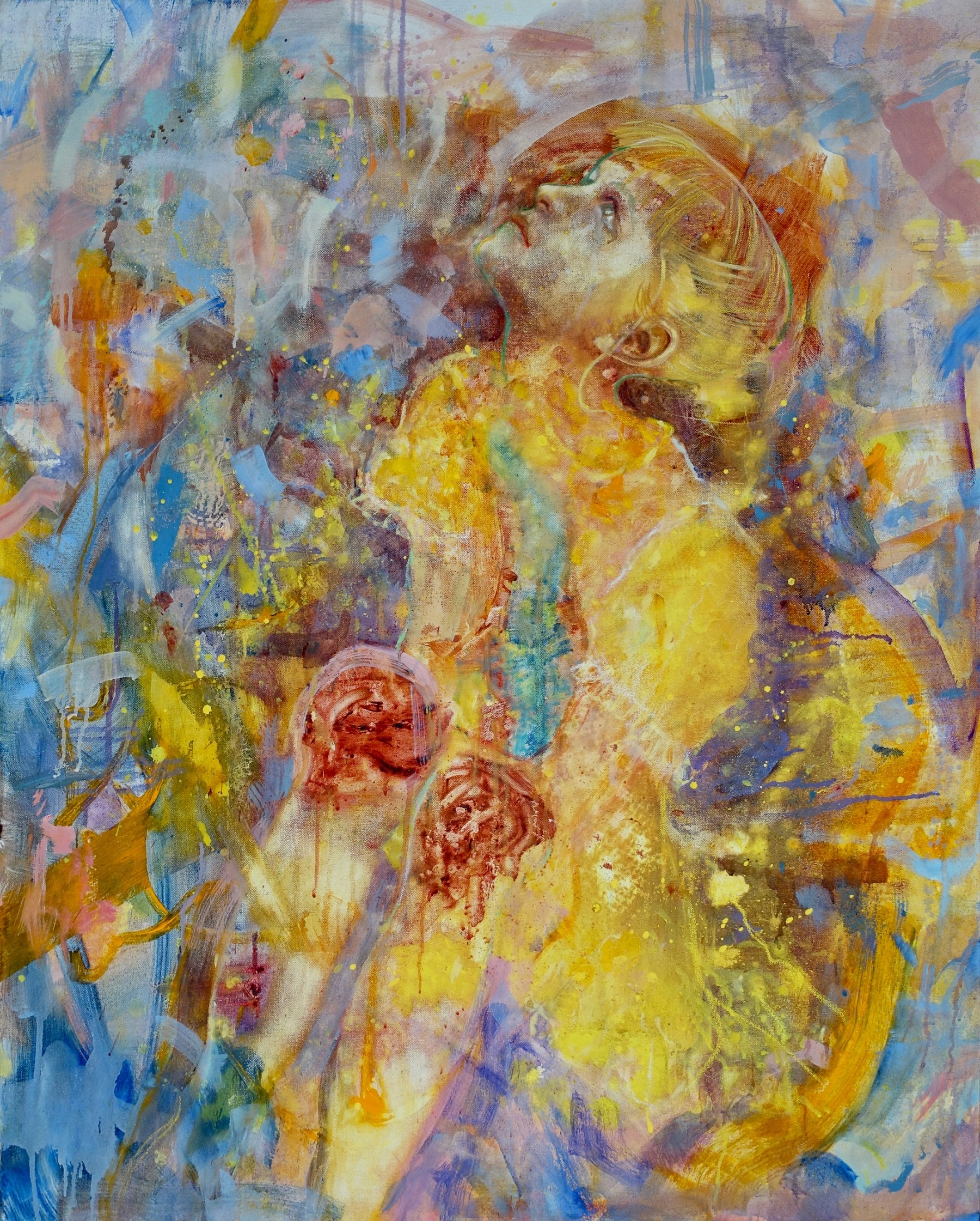 The playground, 2019 Jennifer Nieuwland Oil on canvas, 100 x 80 cm