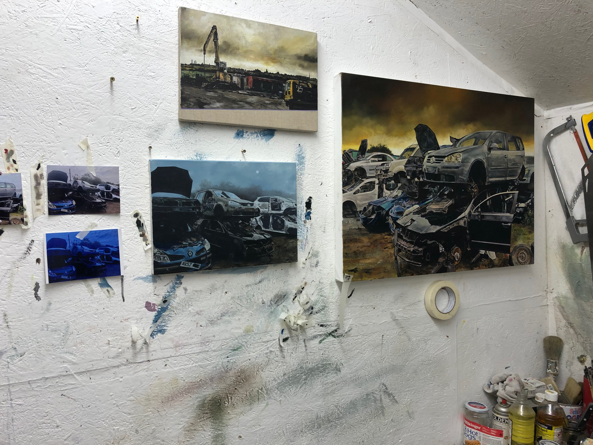 View of Chris Campbell's Studio