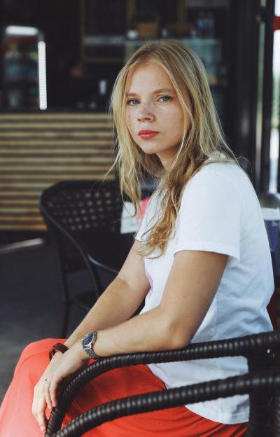 Anna Zadorozhnaya Portrait