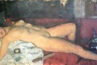 Jocasta's Overdose Sam Rachamin Oil on linen, 162 X 65 cm