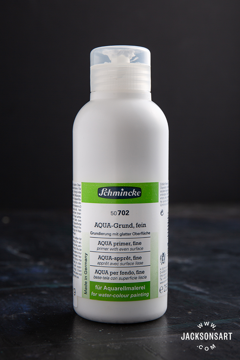 250ml bottle of Schmincke Aqua Fine Ground