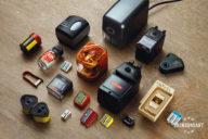 Various sharpeners