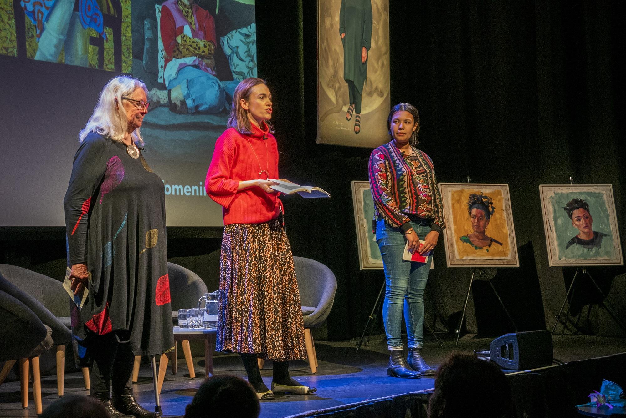 Clae Eastgate, Women in Frame, Kings Place, London, 6Nov2019, ©BronacMcNeill