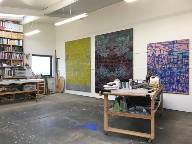 Matthew Burrows' Studio