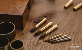 Handcrafting kolinsky sable brushes