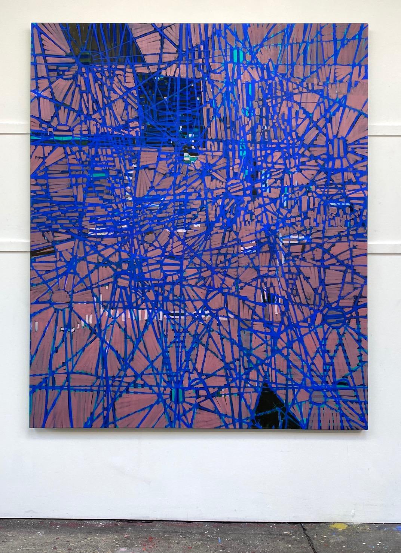 Boussole, 2019 Matthew Burrows Huile sur toile de lin, 180 x 150 cm