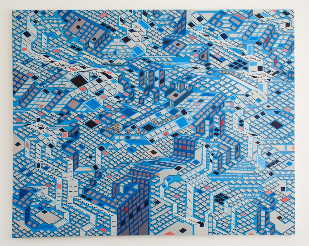 Michael Coppelov. The Seven Bridges of Köningsberg. Jackson's Painting Prize.