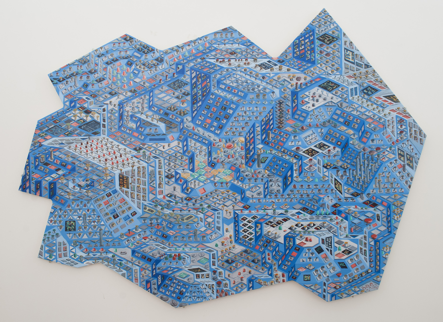 Silicon Valley. Michael Coppelov. Jackson's Painting Prize.